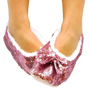 Soft Ballerina Shoes with Sequins