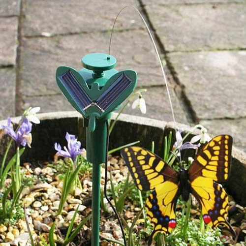 Solar Butterfly for Flowerpots-Universal Store London™