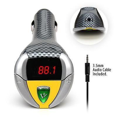 Image of SoundRacer V8 Shelby Engine Sound Effect FM Transmitter MP3-Universal Store London™