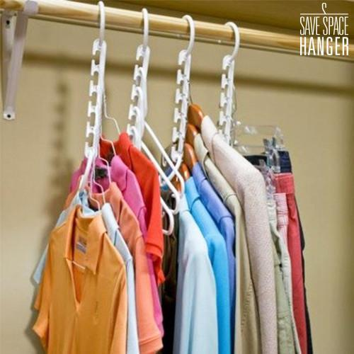 Space Saving Multi Hanger (8 Pieces)-Universal Store London™