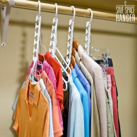 Image of Space Saving Multi Hanger (8 Pieces)-Universal Store London™