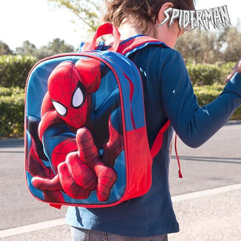 Image of Spiderman 3D School Bag-Universal Store London™
