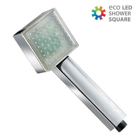 Image of Squared Eco LED Light Shower Head-Universal Store London™