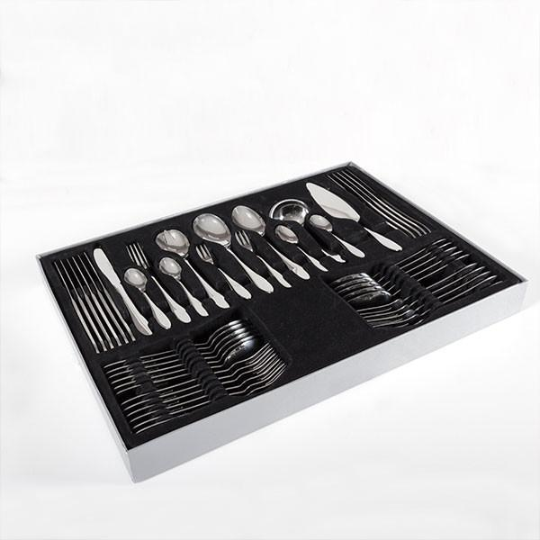 Stainless Steel Cutlery Set (60 pieces)-Universal Store London™