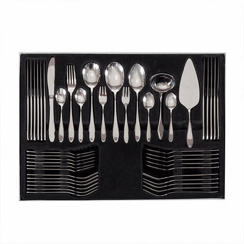 Image of Stainless Steel Cutlery Set (60 pieces)-Universal Store London™