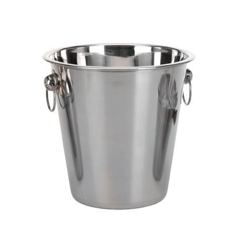 Image of Stainless Steel Ice Buckets and Cocktail Shaker Set (4 pieces)-Universal Store London™