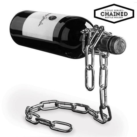 Image of Summum Sommelier Chained Bottle Holder-Universal Store London™