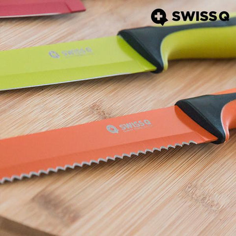 Swiss Q High Quality Stainless Steel Knives (6 pieces)-Universal Store London™