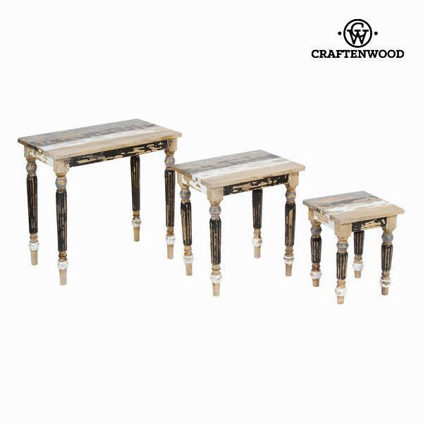Table set of three - Poetic Collection by Craften Wood-Universal Store London™