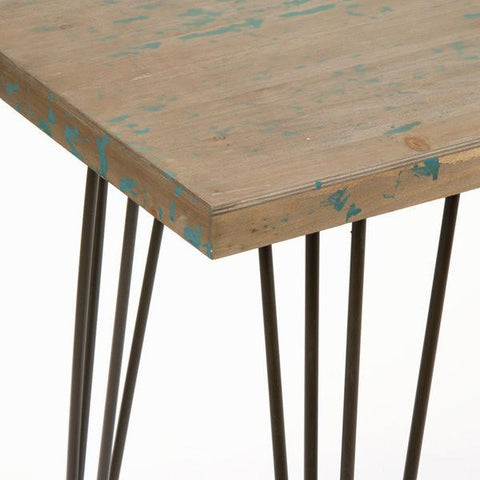 Image of Table with metal feet by Craften Wood-Universal Store London™
