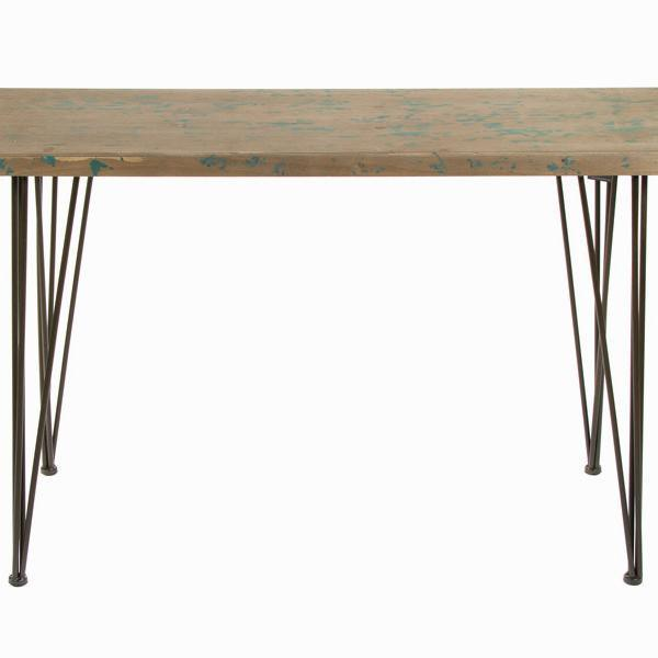 Table with metal feet by Craften Wood-Universal Store London™