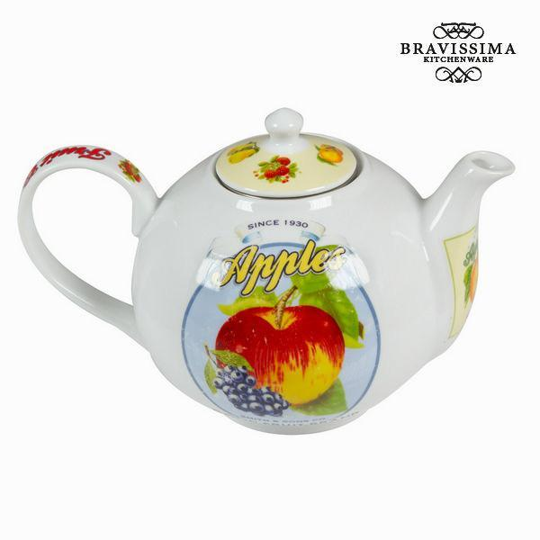 Tea pot with infuser fruits - Kitchen's Deco Collection by Bravissima Kitchen-Universal Store London™