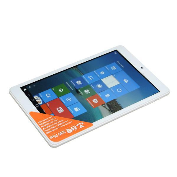 Teclast X80 Plus 32GB Intel Z8300 Quad Core 1.84GHz 8 Inch Dual OS Windows 10 + Android 5.1 Tablet-Universal Store London™