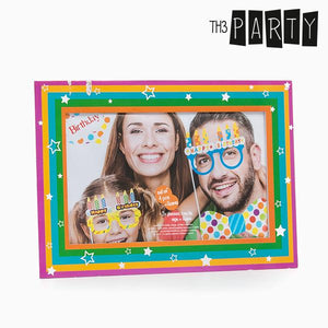 Th3 Party Birthday Accessories for Fun Photos (Set of 5)-Universal Store London™