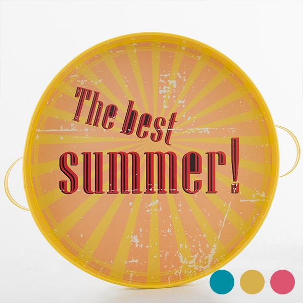 The Best Summer! Retro Metal Tray-Universal Store London™