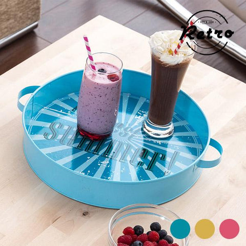 Image of The Best Summer! Retro Metal Tray-Universal Store London™