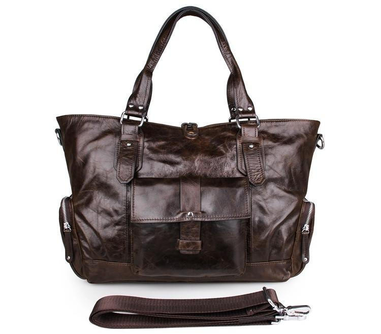 The Bon Vivant Leather Tote-Universal Store London™