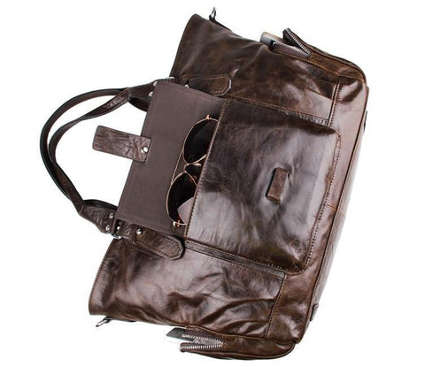 Image of The Bon Vivant Leather Tote-Universal Store London™