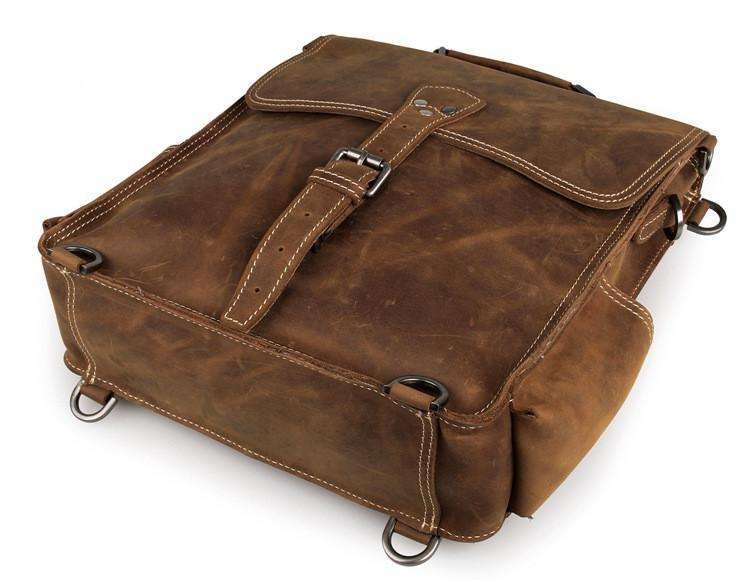 The Ultimate Leather Backpack Messenger Bag Satchel-Universal Store London™