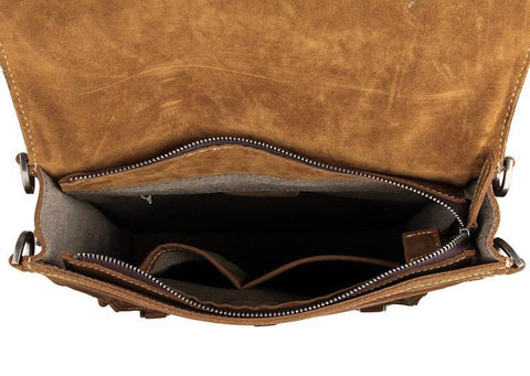 Image of The Ultimate Leather Backpack Messenger Bag Satchel-Universal Store London™