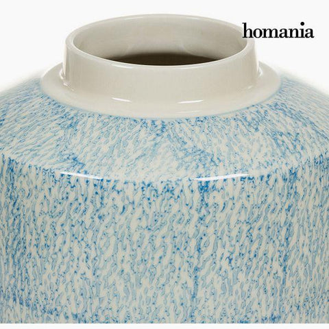 Tibor Stoneware Blue (20 x 20 x 32,5 cm) by Homania-Universal Store London™