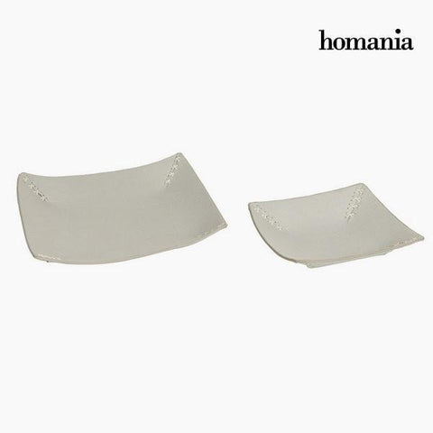 Tidy tray engraved gray by Homania-Universal Store London™