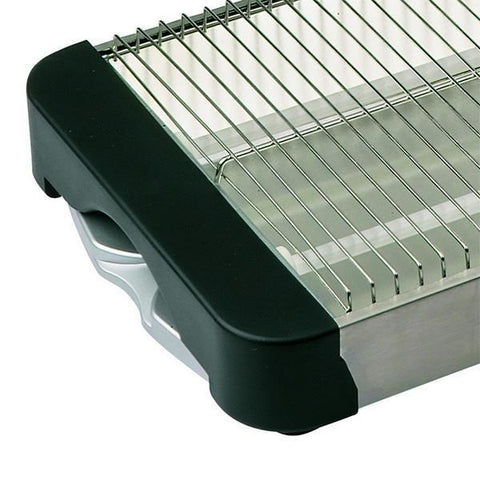 Image of Toaster COMELEC TP-712/7012 600W Black Inox-Universal Store London™
