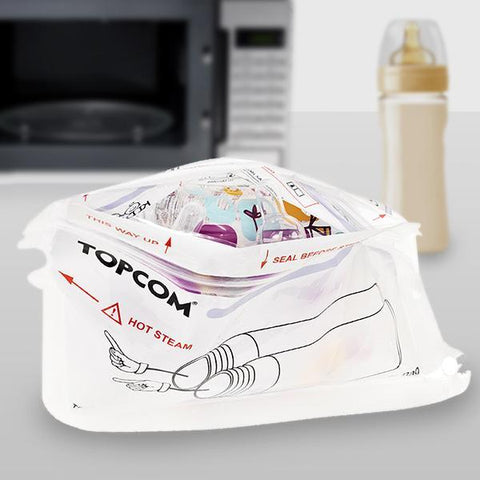 TopCom Microwave Baby Bottle Steriliser-Universal Store London™