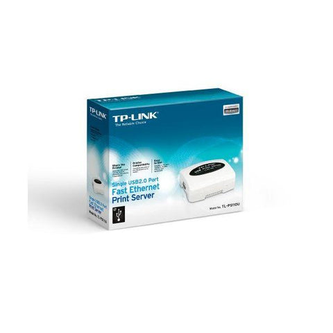 Image of TP-LINK TL-PS110U Print Server Ethernet 1x USB 2.0-Universal Store London™
