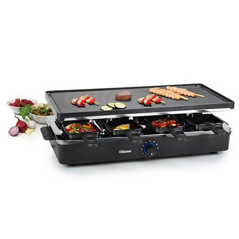 Image of Tristar RA2995 Raclette Grill with 8 Pans-Universal Store London™