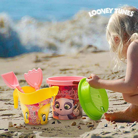 Tweety Beach Games with Watering Can (5 pieces)-Universal Store London™