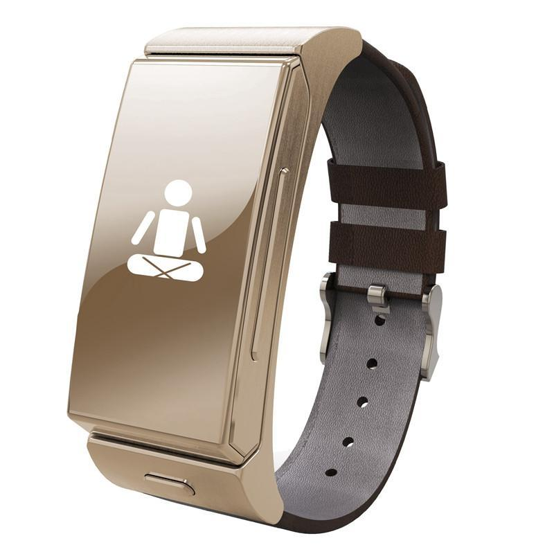 U Watch U20 Mini Smart Watch with Heart Rate Monitor and Bluetooth Headphone-Universal Store London™