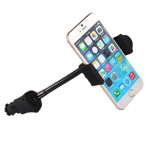 Universal Mobile Phone Car Mount Holder With USB Charger-Universal Store London™