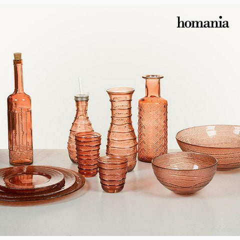 Vase Recycled glass (9 x 9 x 28 cm) by Homania-Universal Store London™