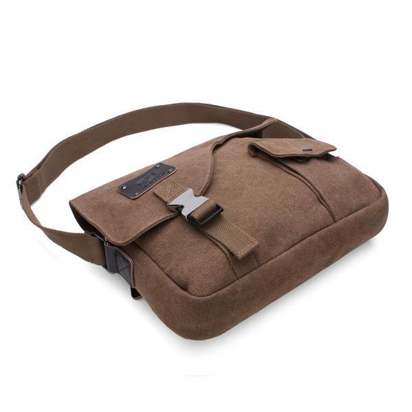Vintage Canvas Messenger Bag-Universal Store London™