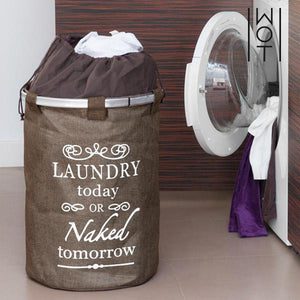 Vintage Dark Wagon Trend Vintage Laundry Bag-Universal Store London™