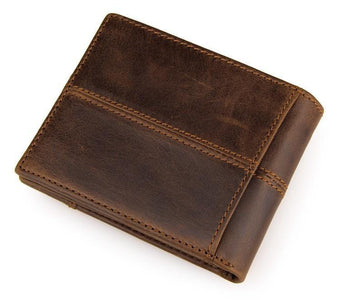 Vintage Leather Wallet USL8064B-Universal Store London™