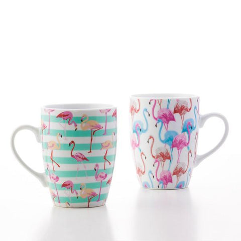 Wagon Trend Flamingo Mug-Universal Store London™