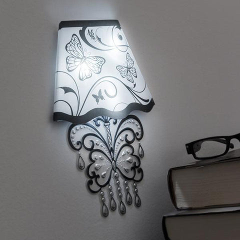 Image of Wall Sticker with LED Butterfly-Universal Store London™