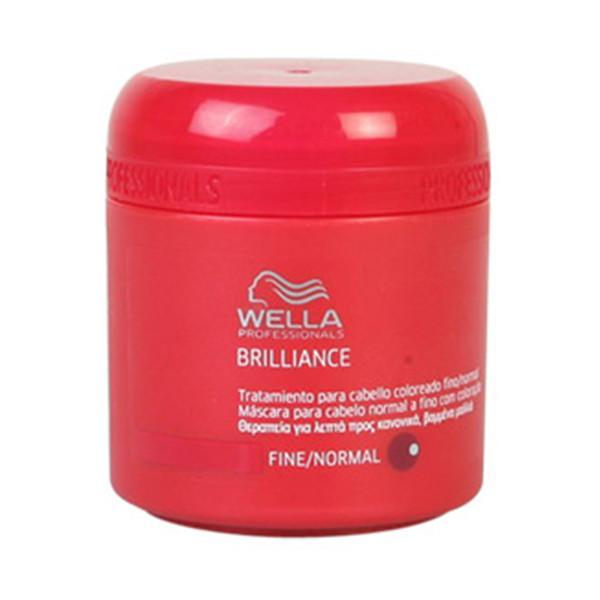 Wella - BRILLIANCE mask fine/normal hair 150 ml-Universal Store London™