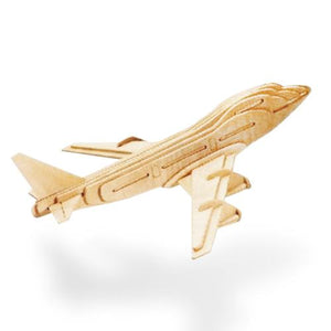 Wooden Aircraft Puzzle-Universal Store London™