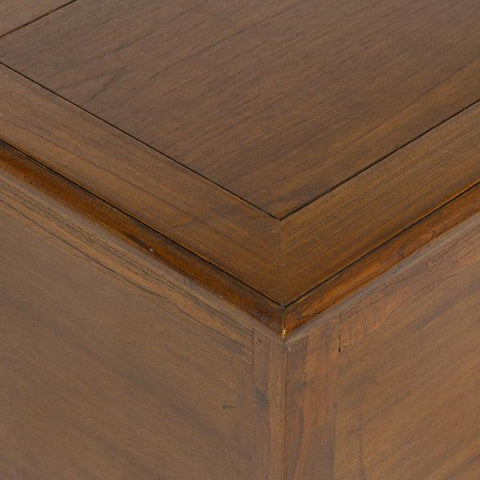 Wooden brown trunk - Let's Deco Collection by Craften Wood-Universal Store London™