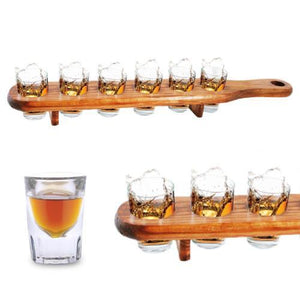 Wooden Shot Glass Holder-Universal Store London™