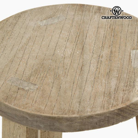 Wooden stool iris by Craftenwood-Universal Store London™