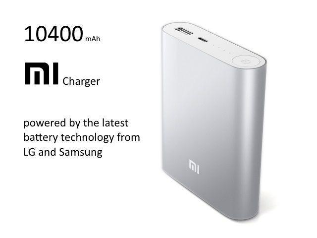 XiaoMI 10400mAh Power Bank Silver-Universal Store London™