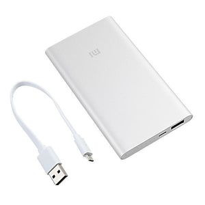 XiaoMi 5000mAh Power Bank Silver-Universal Store London™