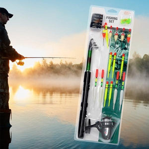 XQ Max Fishing Set Complete With Rod Reel and Floats-Universal Store London™