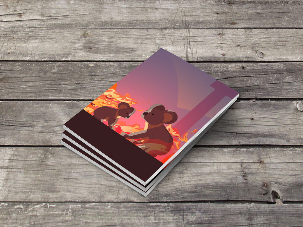 Limited Edition Pocket Notebook - Australia Bushfires
