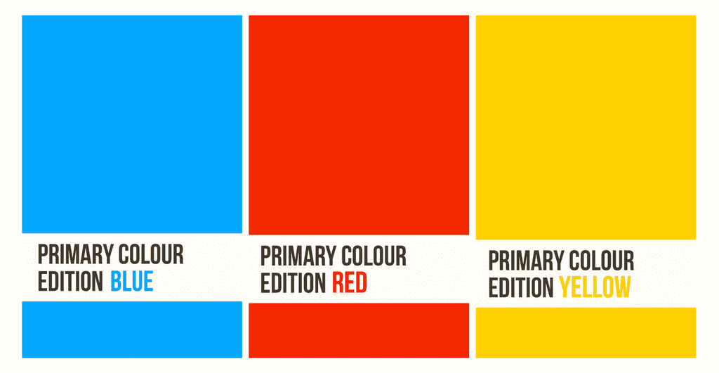 Primary Colour Pocket Notebooks