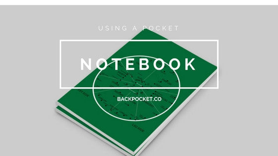 Using a pocket notebook